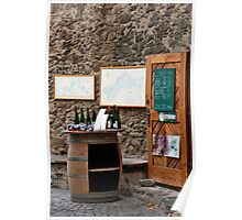Wine Shop Poster