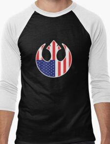 American Rebel Men's Baseball ¾ T-Shirt