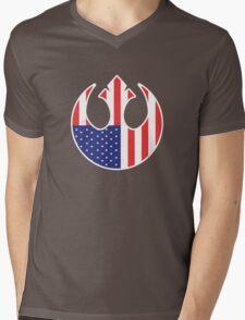 American Rebel Mens V-Neck T-Shirt