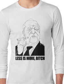SLANGarchitects #1 Mies van der Rohe Long Sleeve T-Shirt