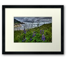 Just To See The Sea Framed Print
