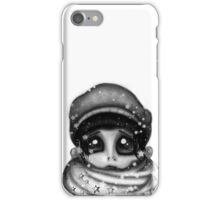 Don't Look Black iPhone Case/Skin
