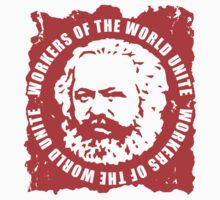 Karl Marx Slogan Stickers by NeoFaction