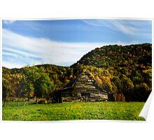 Smoky Mountain Barn Poster