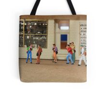 Sylvia, you simply MUST stop referring to our photo group as a flash mob!! Tote Bag
