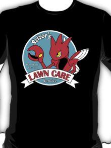 Scizor's Lawn Care Black Shirt T-Shirt