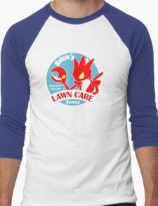 Scizor's Lawn Care Black Shirt Men's Baseball ¾ T-Shirt