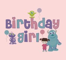 Baby Monsters Inc. University Birthday Girl by sweetsisters