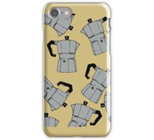 coffeepot pattern iPhone Case/Skin