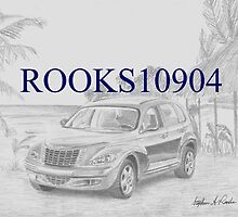 Chrysler PT Cruiser CLASSIC CAR ART PRINT by rooks10904