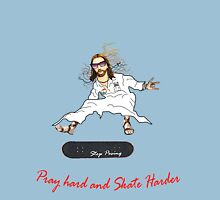 Skateboarder Jesus Knows The Pain Unisex T-Shirt
