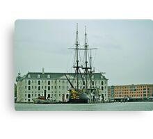 El  Amsterdam....(Replica) Canvas Print