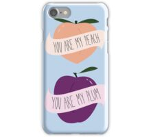 Peach/Plum iPhone Case/Skin