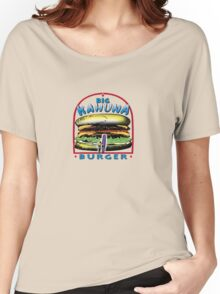 big kahuna burger pulp Women's Relaxed Fit T-Shirt