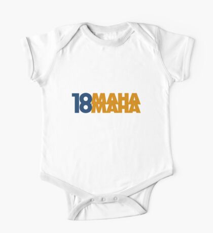 Omaha Omaha (Payton Manning #18 Tee) One Piece - Short Sleeve