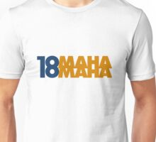 Omaha Omaha (Payton Manning #18 Tee) Unisex T-Shirt