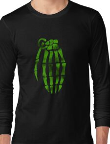 jesse pinkman skeleton hand  Long Sleeve T-Shirt