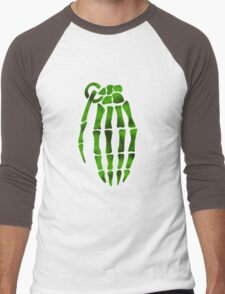 jesse pinkman skeleton hand  Men's Baseball ¾ T-Shirt