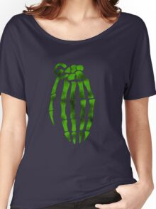 jesse pinkman skeleton hand  Women's Relaxed Fit T-Shirt