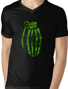 jesse pinkman skeleton hand  Mens V-Neck T-Shirt