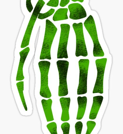 jesse pinkman skeleton hand  Sticker
