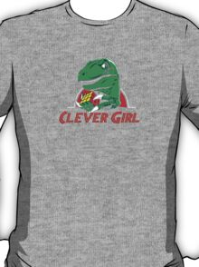 clever girl, jurassic T-Shirt
