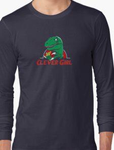 clever girl, jurassic Long Sleeve T-Shirt
