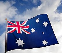 Flag of Australia by Alex Preiss