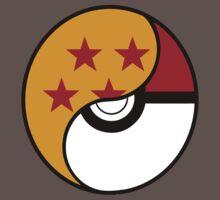 Dragon Ball x Pokemon Kids Clothes