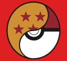 Dragon Ball x Pokemon Baby Tee