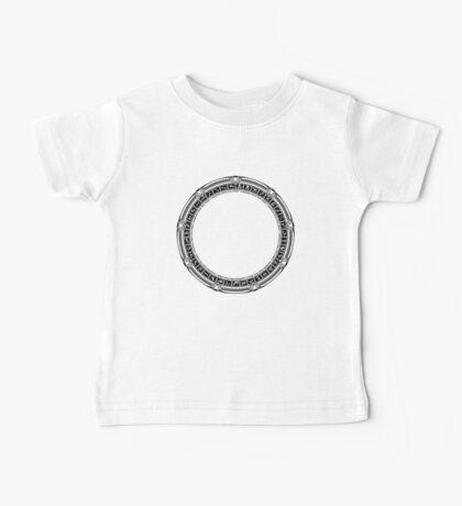 The Stargate black ink Baby Tee