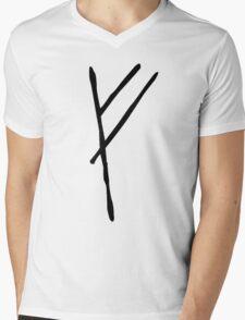 Gandalf's Mark on Bilbo's Door Mens V-Neck T-Shirt