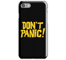 The Hitchhikers Guide to the Galaxy - Don't Panic iPhone Case/Skin