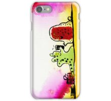 ALIEN PICNIC iPhone Case/Skin