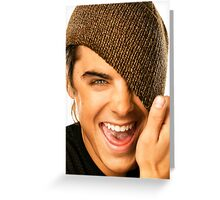 Zac Efron Cute Greeting Card