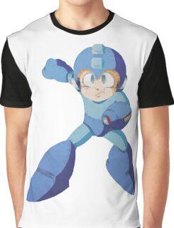 Mega Man 3 - Polygon Mega Man Graphic T-Shirt