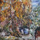 Autumn Alley by Stefano Popovski