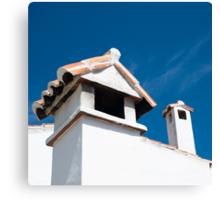 Spanish Rooftops Canvas Print