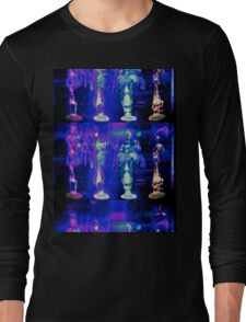 Psychedelic Flame Long Sleeve T-Shirt