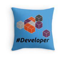 Developer Throw Pillow