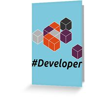 Developer Greeting Card