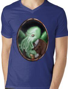 Portrait of Cthulhu Mens V-Neck T-Shirt