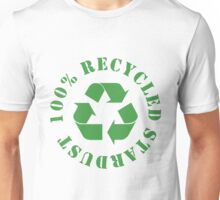 100% RECYCLED STARDUST (Green) Unisex T-Shirt