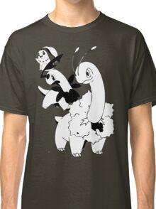 Chikorita Evolution Line Classic T-Shirt