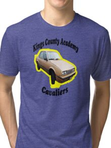 KCA Cavaliers Yellow Tri-blend T-Shirt