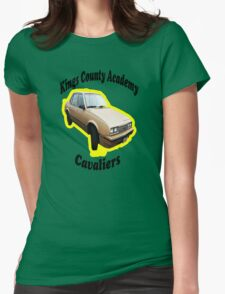 KCA Cavaliers Yellow Womens Fitted T-Shirt
