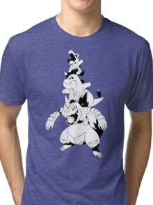 Totodile Evolution Line Tri-blend T-Shirt