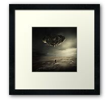.rock. Framed Print