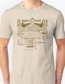"""Flown"" Viktor Schauberger inspired graphic T-Shirt"