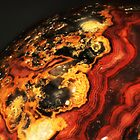 Young Planet (Crazy Lace Agate) by Stephanie Bateman-Graham